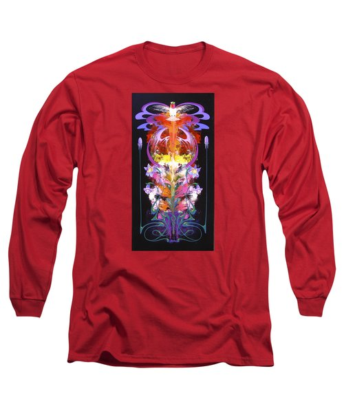 Spark Of Nature Long Sleeve T-Shirt by Alan Johnson