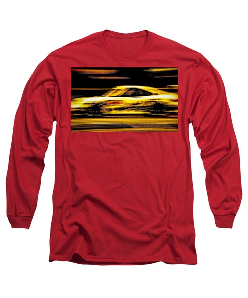 Long Sleeve T-Shirt featuring the photograph Speedmerchant by Michael Nowotny