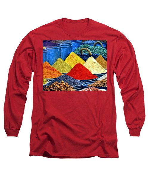 Spice Market In Casablanca Long Sleeve T-Shirt