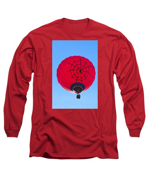 Long Sleeve T-Shirt featuring the photograph Spiderballoon by Brenda Pressnall