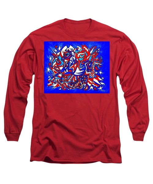 Spirit Of Freedom Long Sleeve T-Shirt