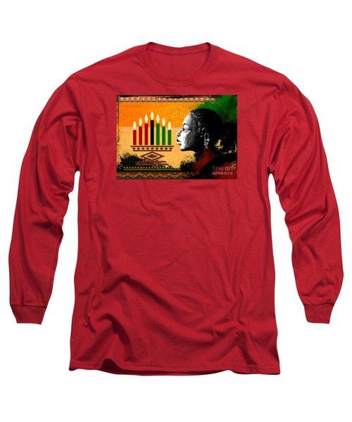 Spirit Of Kwanzaa Long Sleeve T-Shirt