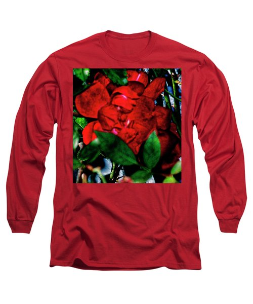Spirit Of The Rose Long Sleeve T-Shirt by Gina O'Brien