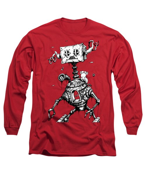 Sponge Head Long Sleeve T-Shirt