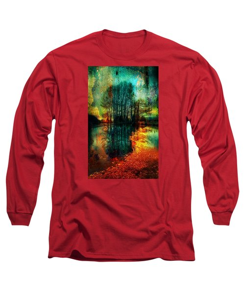 Spook Tree Long Sleeve T-Shirt by Greg Sharpe