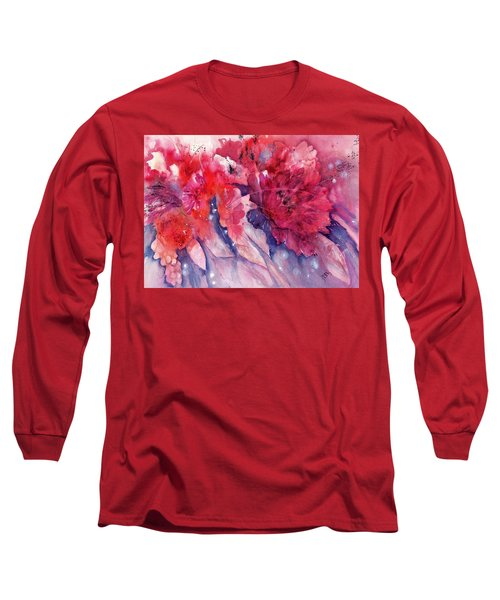 Flowers - Spring Awakening Like A Firework Long Sleeve T-Shirt