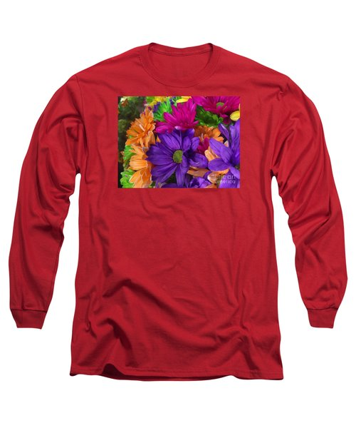 Spring Mums Long Sleeve T-Shirt