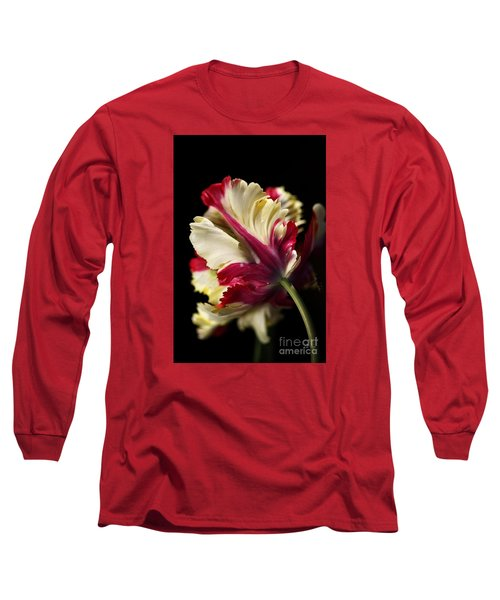 Spring Parrot Tulip Long Sleeve T-Shirt