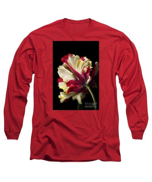 Spring Parrot Tulip Long Sleeve T-Shirt