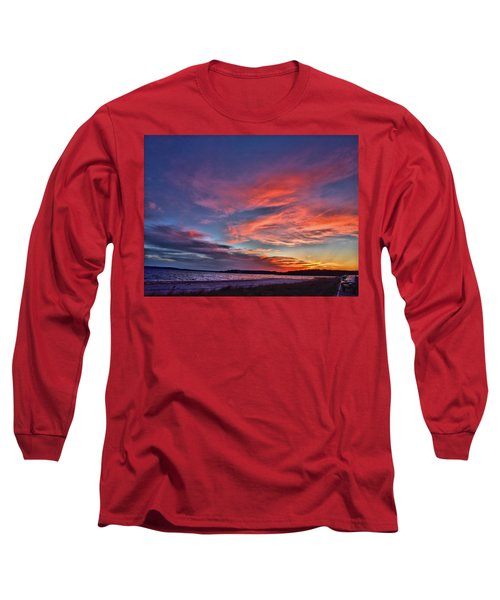 Spring Sunset Long Sleeve T-Shirt