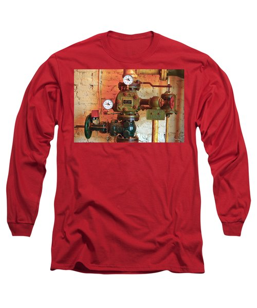 A Spinkle In Time Sprinkler Guages Long Sleeve T-Shirt