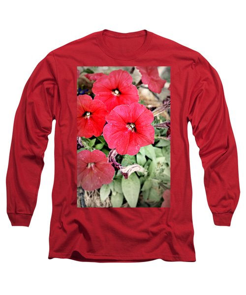 Sprung Spring Long Sleeve T-Shirt by Ally  White