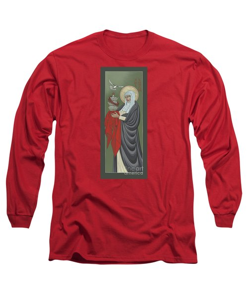 St Catherine Of Siena- Guardian Of The Papacy 288 Long Sleeve T-Shirt