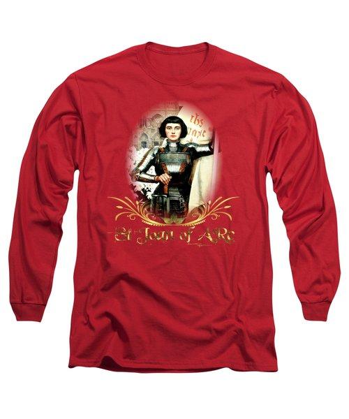 St Joan Of Arc - Jeanne D'arca Long Sleeve T-Shirt