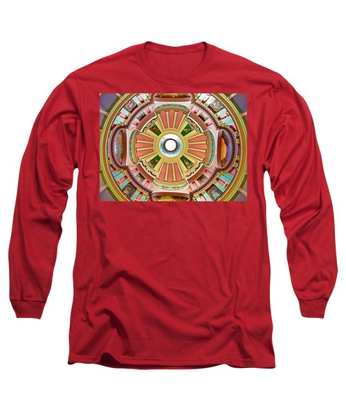 St Louis Old Courthouse Dome Long Sleeve T-Shirt
