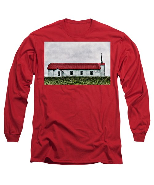 St. Mary Church, Babb, Mt Long Sleeve T-Shirt