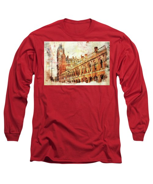 St Pancras Long Sleeve T-Shirt by Nicky Jameson