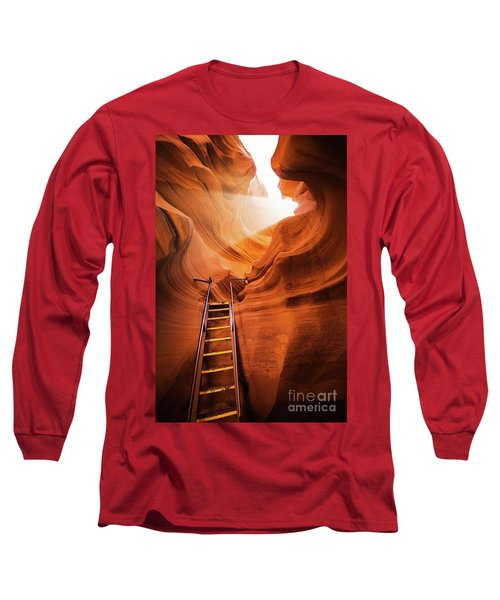 Stairway To Heaven Long Sleeve T-Shirt by JR Photography