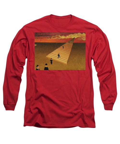 Stairway To Heaven Long Sleeve T-Shirt by Thomas Blood