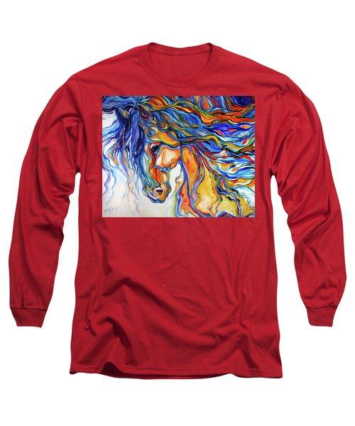 Stallion Southwest By M Baldwin Long Sleeve T-Shirt