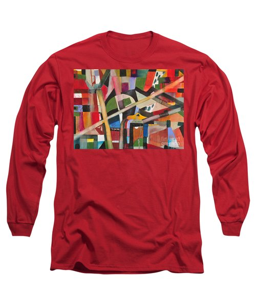 Standard Pipeing Long Sleeve T-Shirt