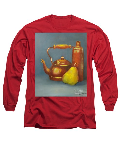 Standing Tall Long Sleeve T-Shirt by Genevieve Brown