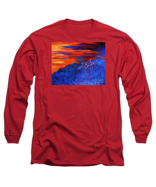 Star On The Mountain Long Sleeve T-Shirt