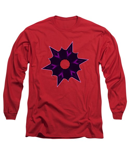 Star Record No. 8 Long Sleeve T-Shirt by Stephanie Brock