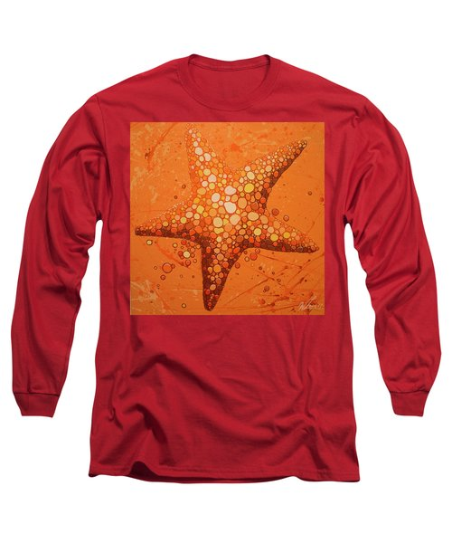 Starfish In Coral Long Sleeve T-Shirt