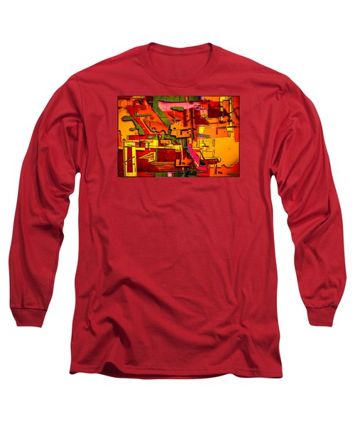 Industrial Autumn Long Sleeve T-Shirt by Don Gradner