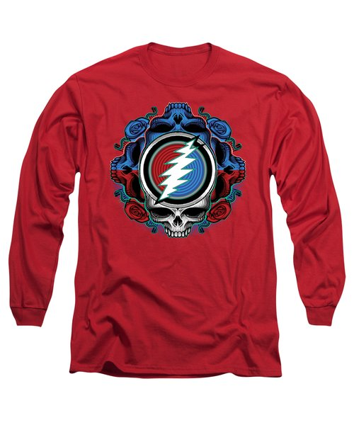 Steal Your Face - Ilustration Long Sleeve T-Shirt