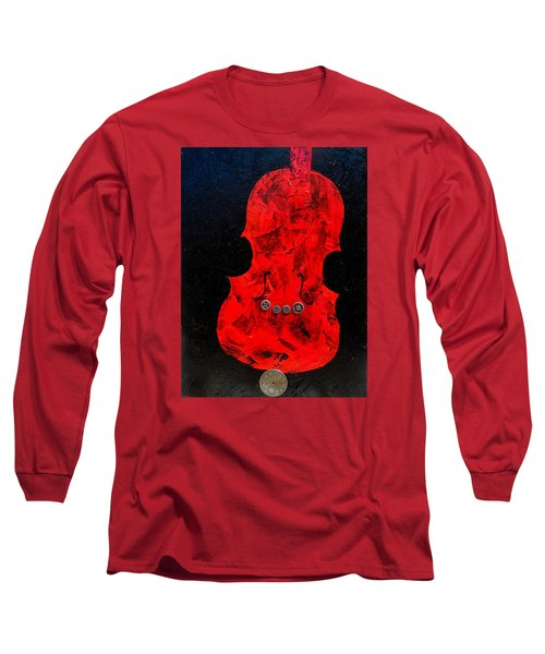 Steampunk Violin Long Sleeve T-Shirt