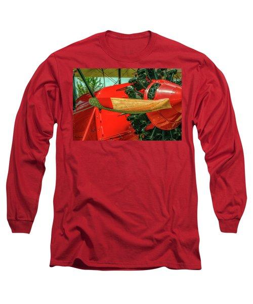 Stearman C3b Biplane Long Sleeve T-Shirt