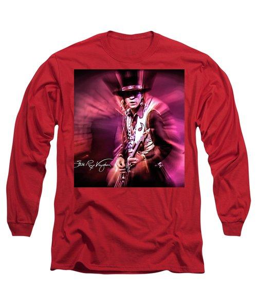 Stevie Ray Vaughan - Crossfire Long Sleeve T-Shirt