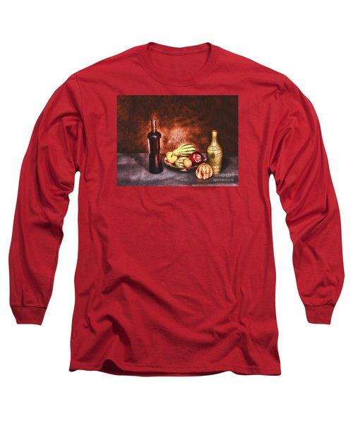 Long Sleeve T-Shirt featuring the photograph Still Life  ... by Chuck Caramella