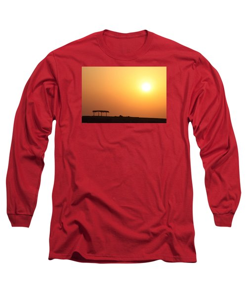 Long Sleeve T-Shirt featuring the photograph Still Out Of The Shade by Jez C Self