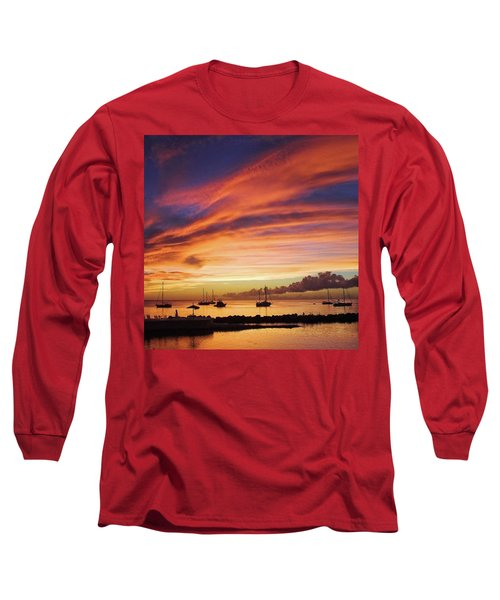 Store Bay, Tobago At Sunset #view Long Sleeve T-Shirt