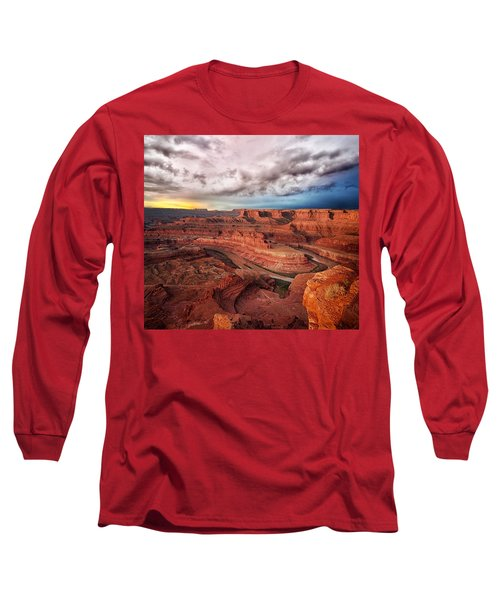 Storm Over Dead Horse Point Long Sleeve T-Shirt
