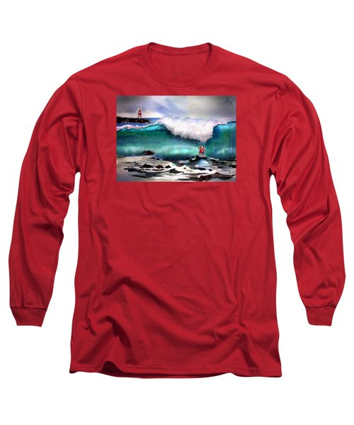 Storm Surf Moment Long Sleeve T-Shirt