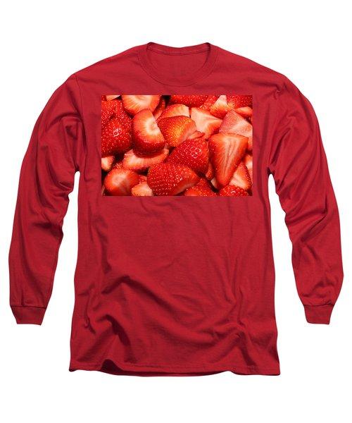 Strawberries 32 Long Sleeve T-Shirt