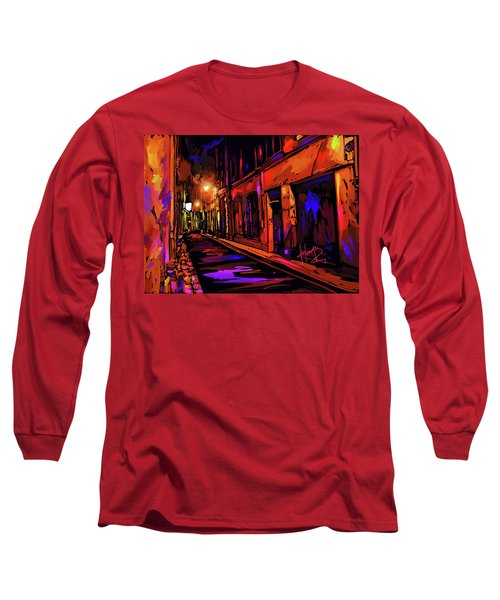 Street In Avignon, France Long Sleeve T-Shirt