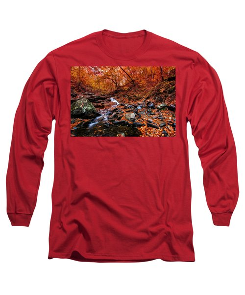 Stress Relief Long Sleeve T-Shirt by Edward Kreis