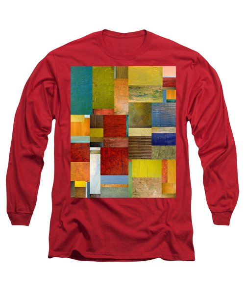 Strips And Pieces L Long Sleeve T-Shirt