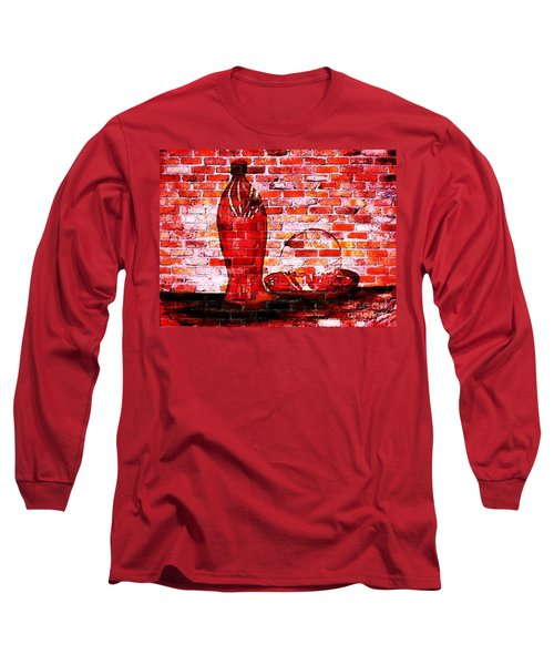 Such Is Life On The Wall Long Sleeve T-Shirt