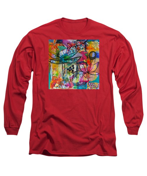 Summer Breeze  Long Sleeve T-Shirt by Corina  Stupu Thomas