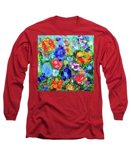 Summer Garden  Long Sleeve T-Shirt