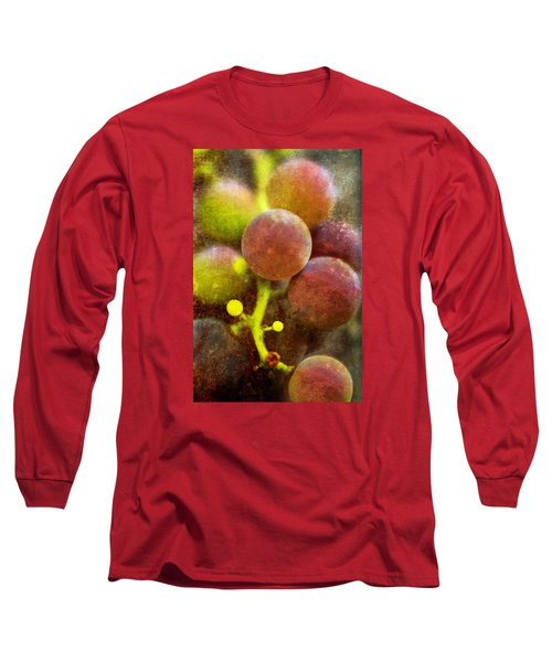 Long Sleeve T-Shirt featuring the photograph Summer Grapes by Tom Singleton
