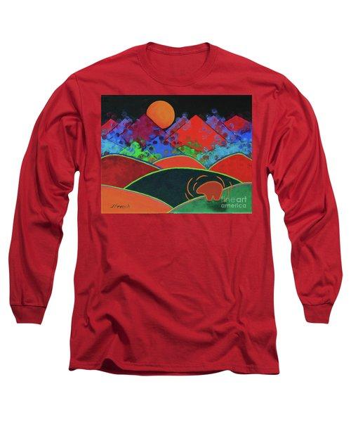 Summer Guardian Bear Long Sleeve T-Shirt