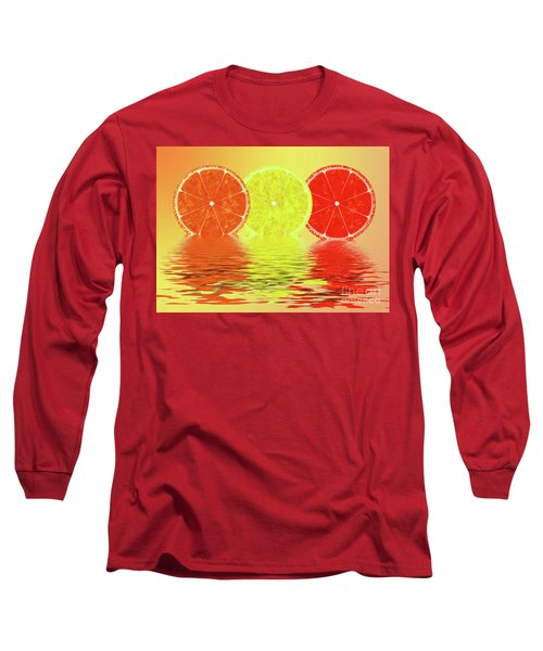 Orange,lemon,blood Orange Long Sleeve T-Shirt