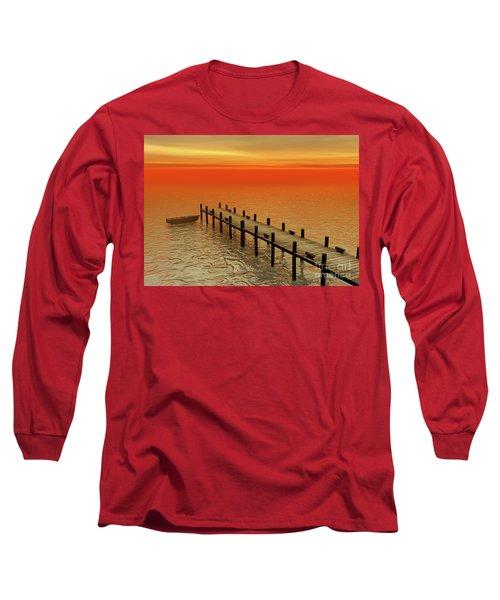 Summer Serenity Long Sleeve T-Shirt